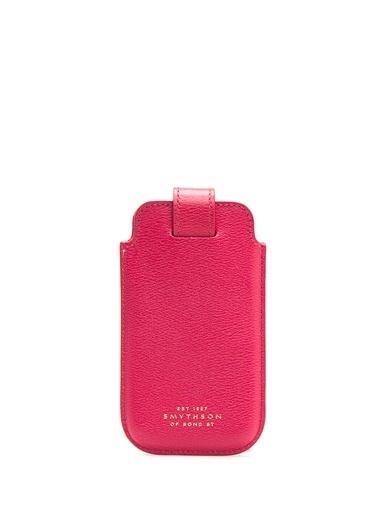Smythson Cep Telefonu Kılıfı Fuşya